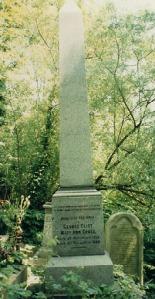 George Eliot Headstone
