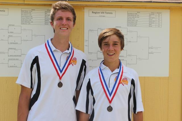 Aaron Lewis, James McKell, Regional Tennis Tournament