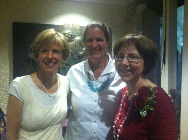 May Hall  Roothie, Ann, Becky 2013