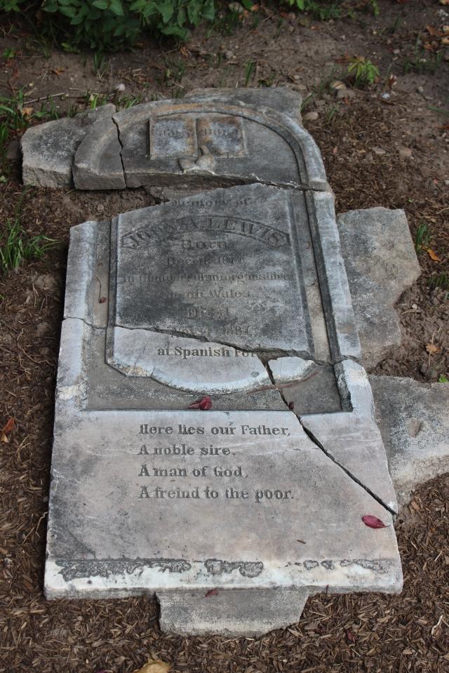 Lewis, John A. Headstone