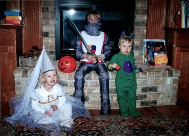 Halloween 1996 kids