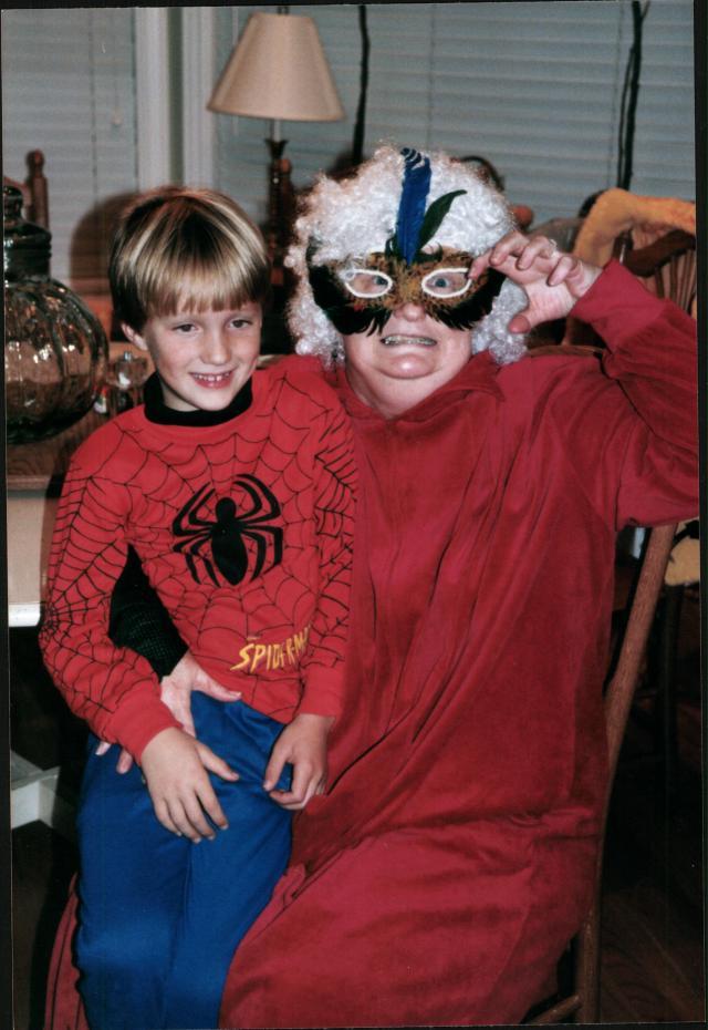 Halloween 1997 Adam & Berd