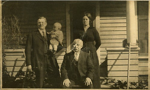 Smuin, John M. b. 1852 with family