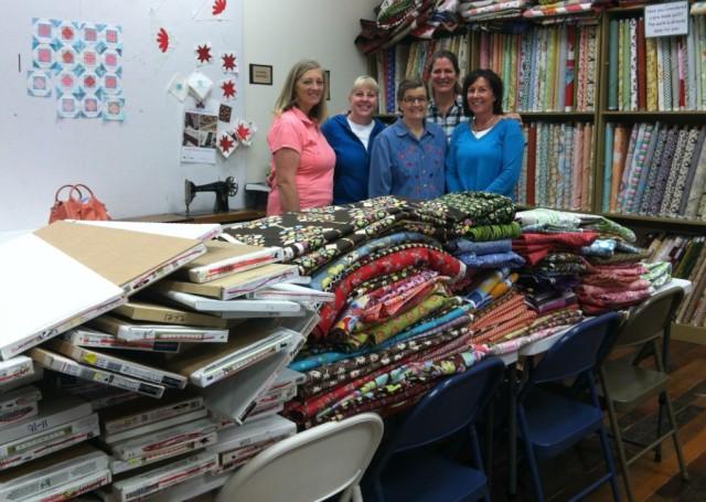 Days for Girls, AQ Fabric Donation