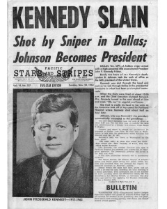 JFK Shot 1963