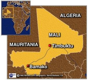 Mali Map, Timbuktu