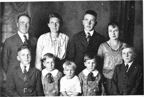Barler. Rufus Orrin & Ella Isadora Bushman family