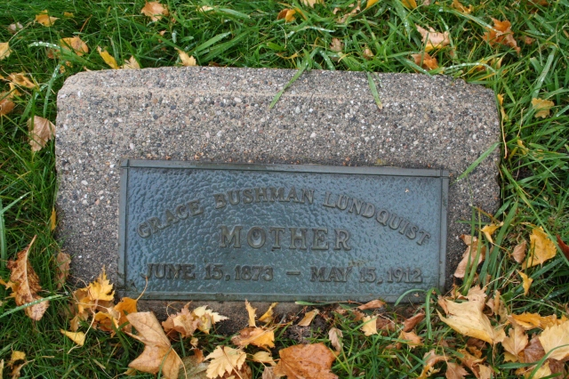 Lundquist headstones, City Cemetery, SLC (3)