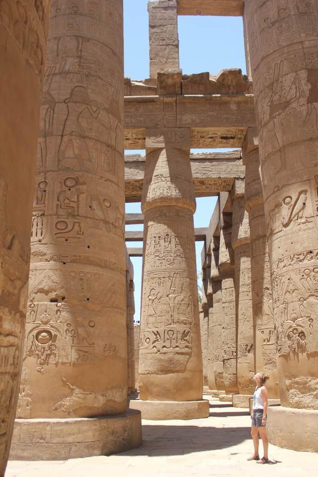 Karnak Temple, Claire