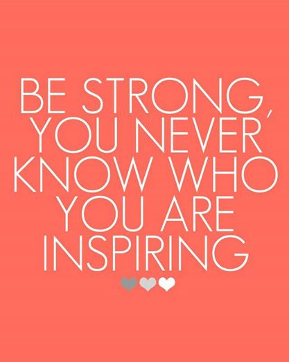 Be Strong, Inspire