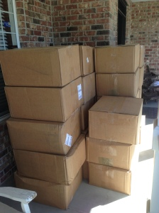 2014-10-12 UPS Boxes of Flannel. 1