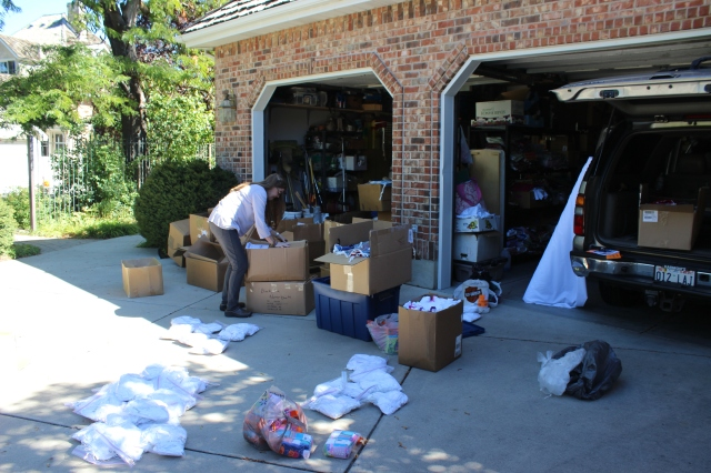 2014-10-2 Packing Kits for Zimbabwe (2)