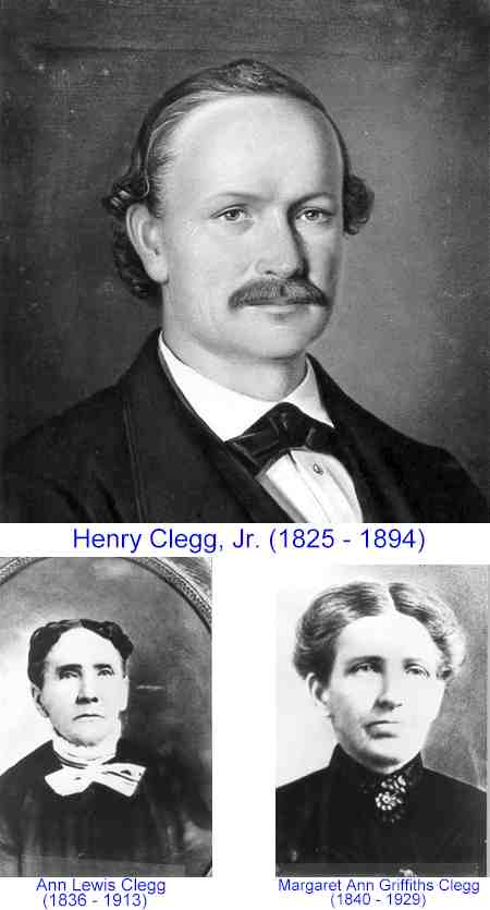 Clegg, Henry Jr. Wives 1