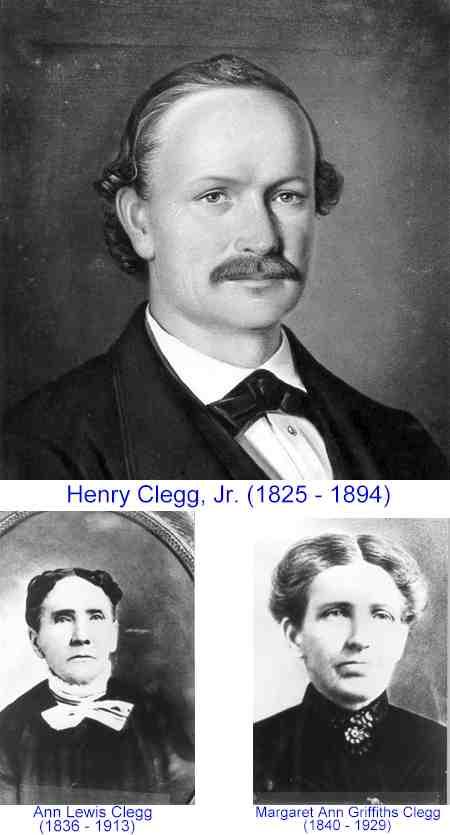 Clegg, Henry Jr. Wives 1