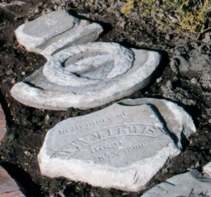 Lewis, Ann John headstone. 1