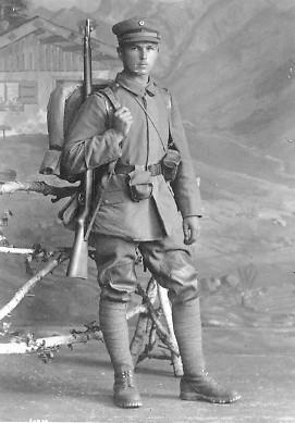 Rudolf Laemmlen Soldier WWI