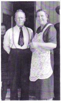 Barker, Ella Isabella Bushman and Rufus Orrin