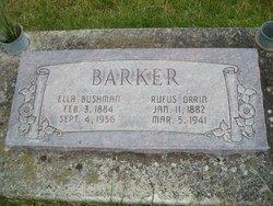 Barker, Ella Isadora Bushman headstone