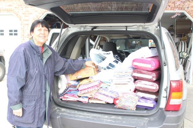 2015-4-6 Kit Supplies to Switzerland