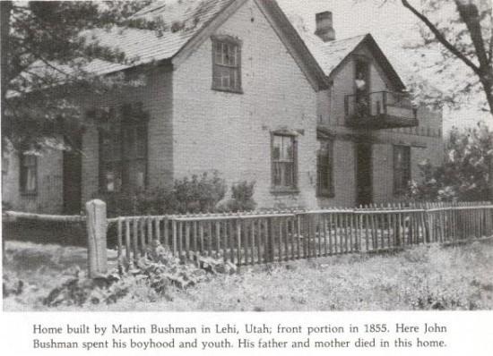Bushman Home, Lehi