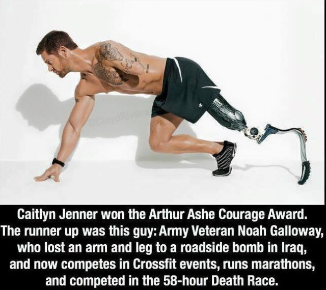 Arthur Ashe Courage Award runner up