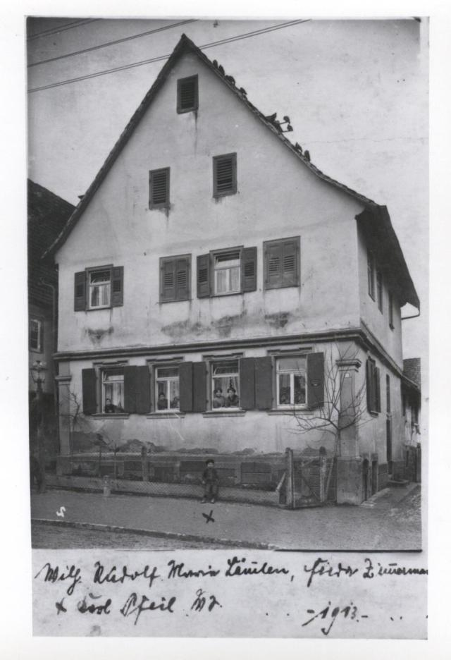 Laemmlen, Rudolf Home 1913