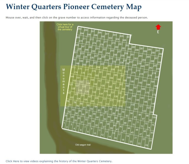 WQ Cemetery Map