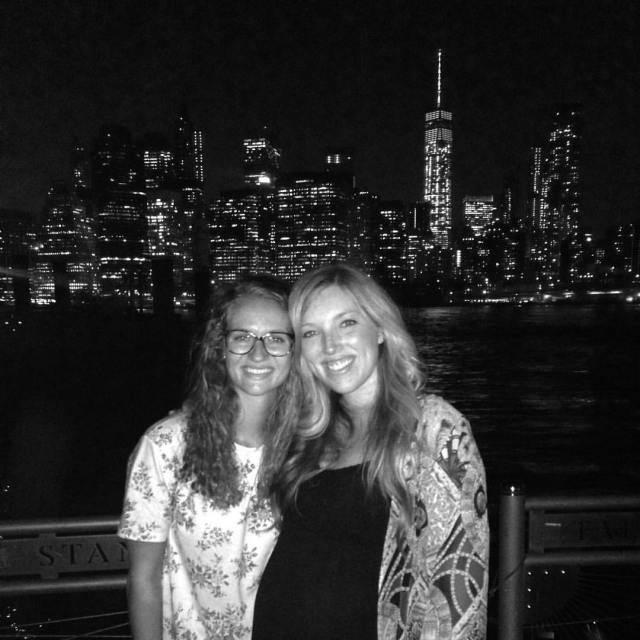 2015-9-1 Claire and Riana NYC