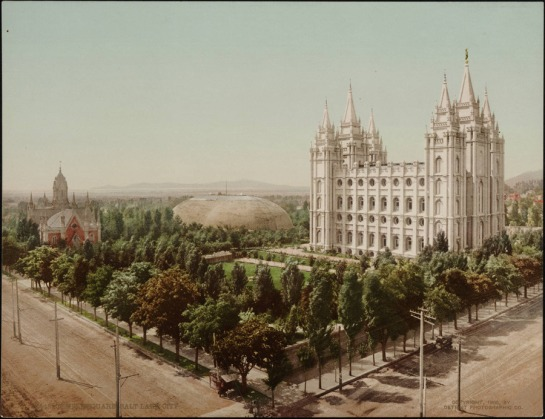 Salt Lake Temple 1987-1924
