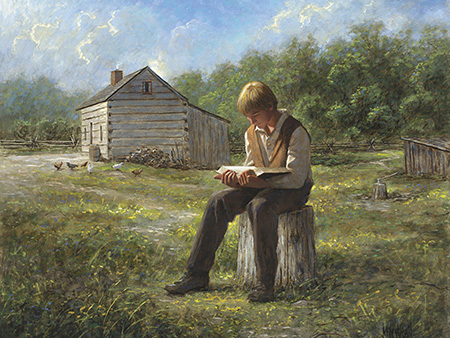 Joseph Smith reading by James McNaughton