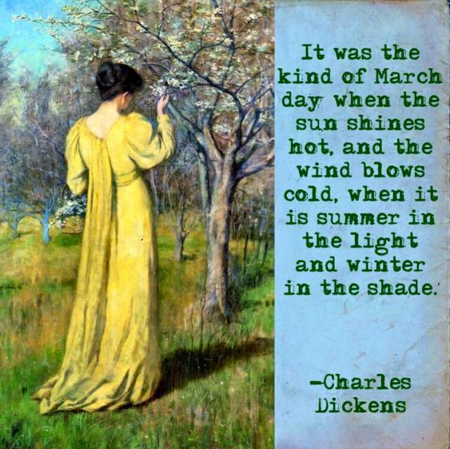 Dickens on a March day