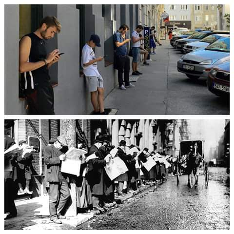 texting-vs-newspapers