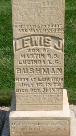 Bushman, Lewis Jacob d. 1897, KY