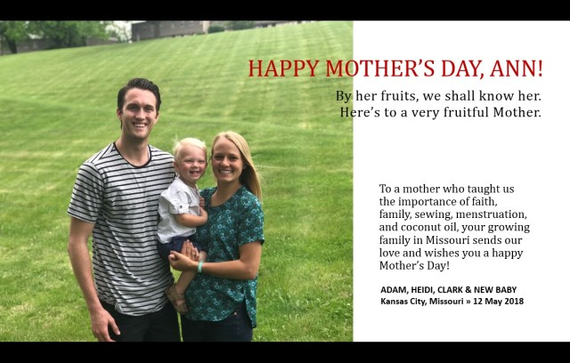 2018-5-13 Mother's Day (1)