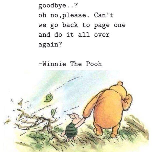 Pooh Goodbye